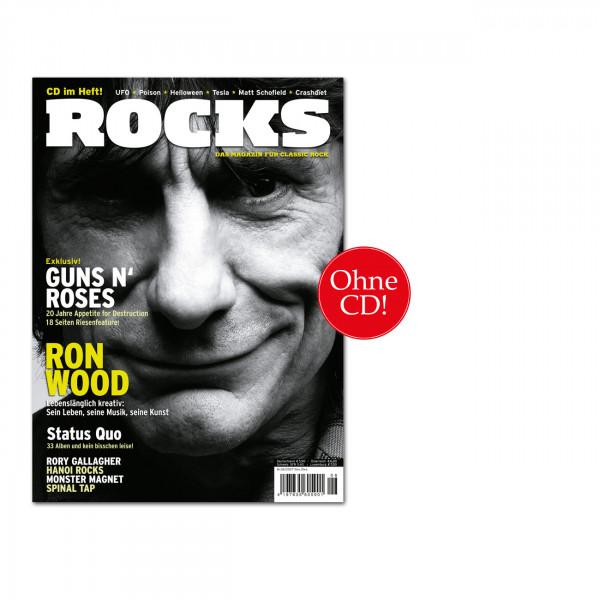 ROCKS Magazin 01 (06/2007) OHNE CD Mit Ron Wood, Guns N' Roses, Status Quo, Rory Gallagher, Hanoi Rocks, Monster Magnet, Spinal Tap, u.v.m.