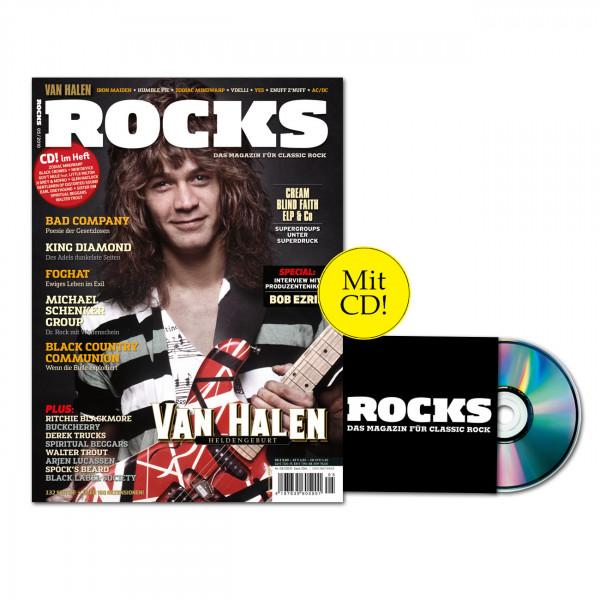 ROCKS Magazin 18 (05/2010) mit CD und Van Halen