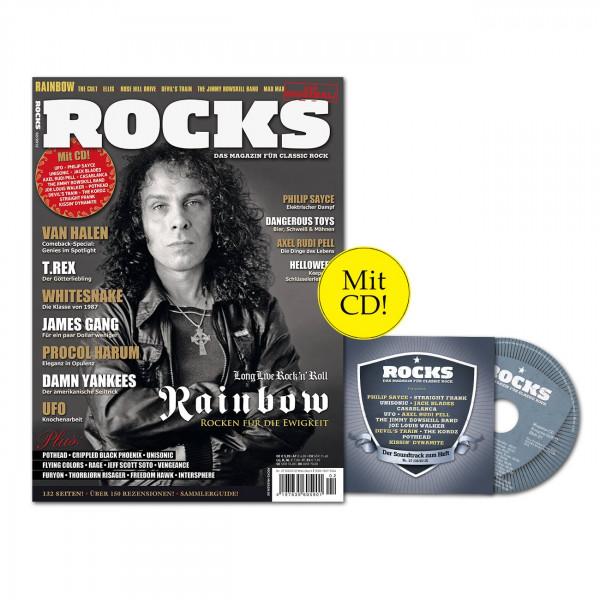 ROCKS Magazin 27 (02/2012) mit CD und Rainbow!