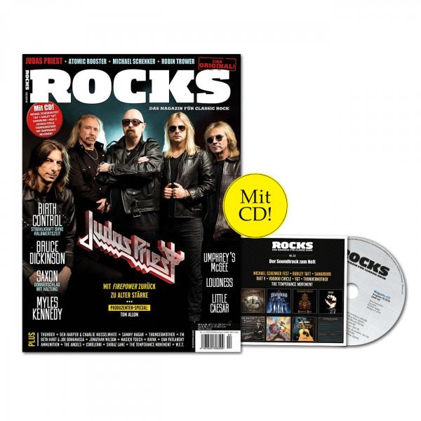 ROCKS Magazin 63 (02/2018) mit CD und Judas Priest