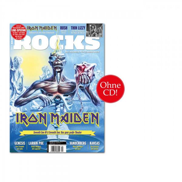 ROCKS Magazin 77 (04/2020): Iron Maiden, Thin Lizzy, Kansas, Grave Digger, Rush, Vandenberg, Genesis, Larkin Poe, Primal Fear,