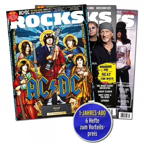 Das ROCKS-Jahres-Abo!