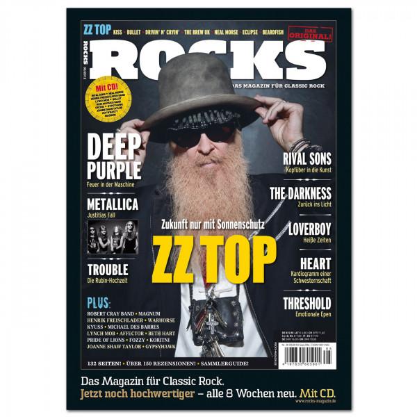 ZZ Top-Poster in glänzender Bilderdruckqualität