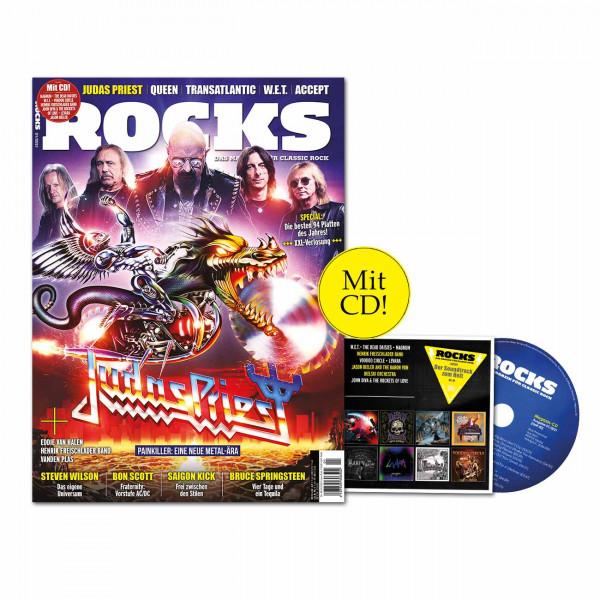ROCKS Magazin 80 (01/2021) mit CD mit Judas Priest