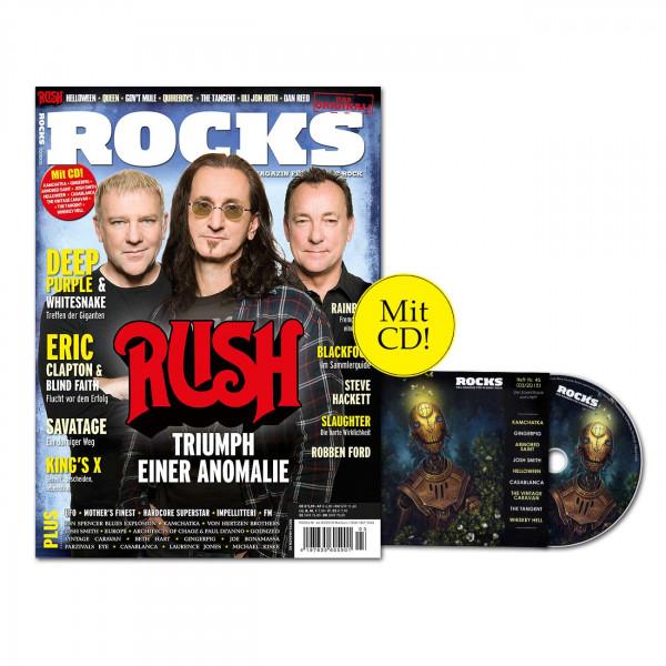 ROCKS Magazin 46 (03/2015) mit CD und Rush!