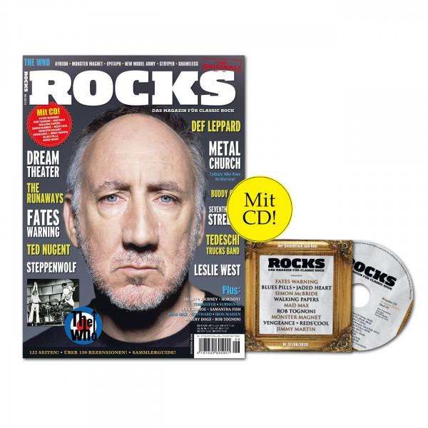 ROCKS Magazin 37 (06/2013) mit CD und The Who!