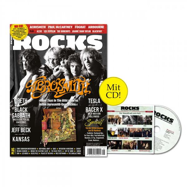 ROCKS Magazin 54 (05/2016) mit CC und Aerosmith!