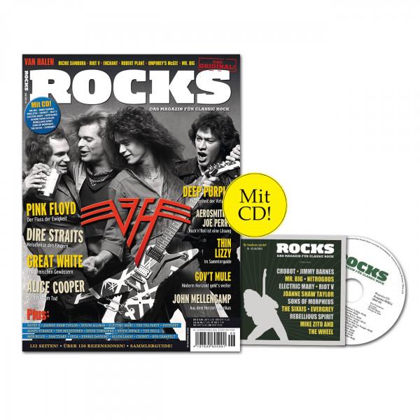 ROCKS Magazin 43 (06/2014) mit CD und Van Halen!