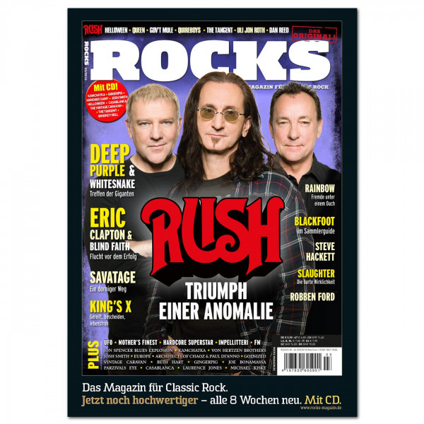 Rush-Poster in glänzender Bilderdruckqualität